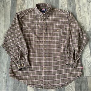 MOOSE CREEK Flannel Button Down Shirt